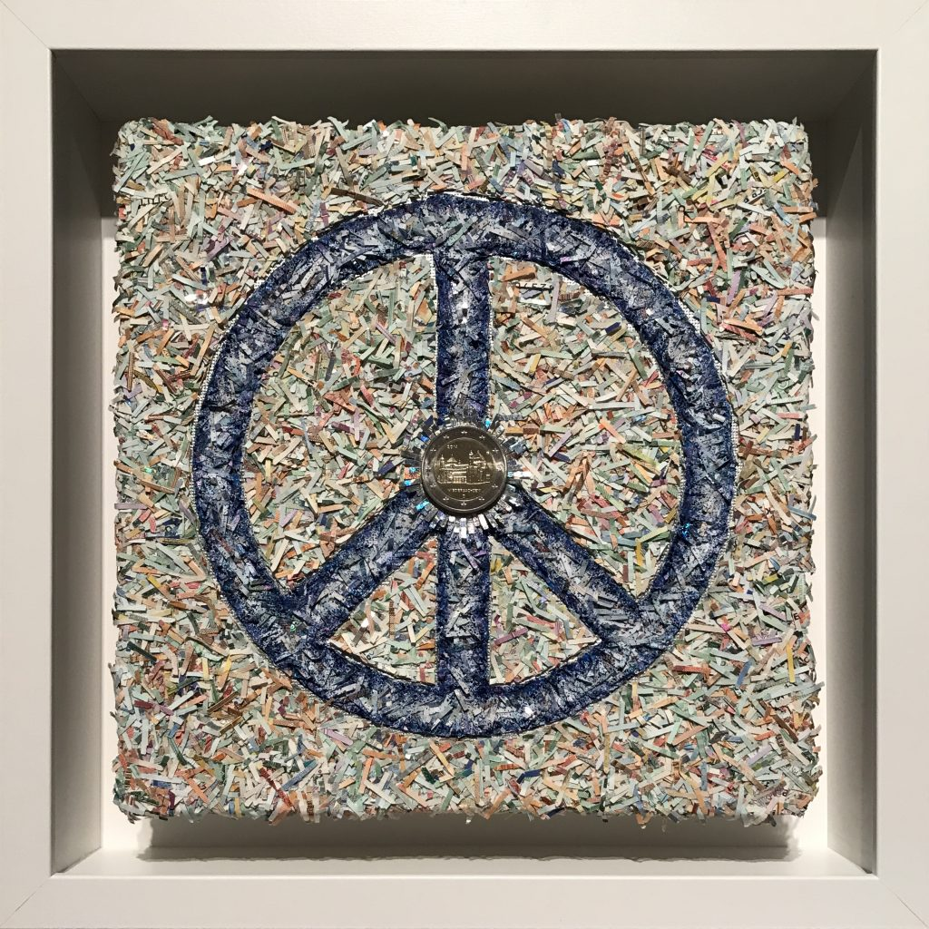 """Unbezahlbar - Frieden """"Peace"""""""